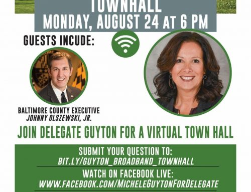 Virtual Town Hall Meeting to discuss broadband access and virtual education